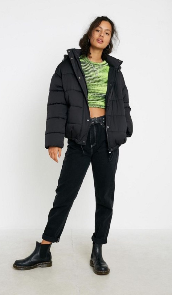 adidas UO Exclusive Cropped Puffer Jacket | Jackets, Puffer